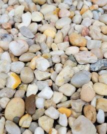 White Quartzite River Rock