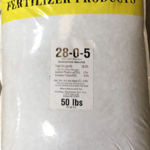50 pound fertilizer bag