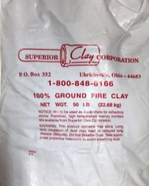 superior clay corporation bag