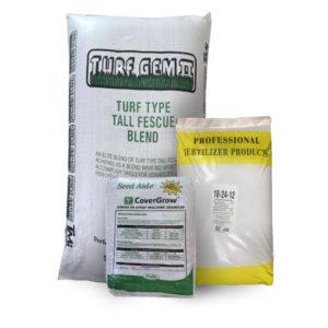 turf seed bags