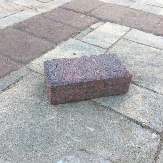 a large rectangular stone
