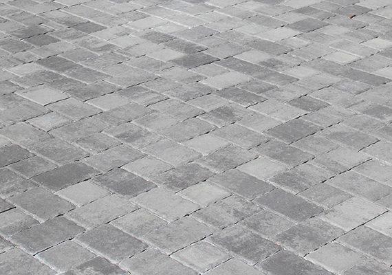 classic gray cobble