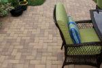 rectangular holland stone with patio furniture