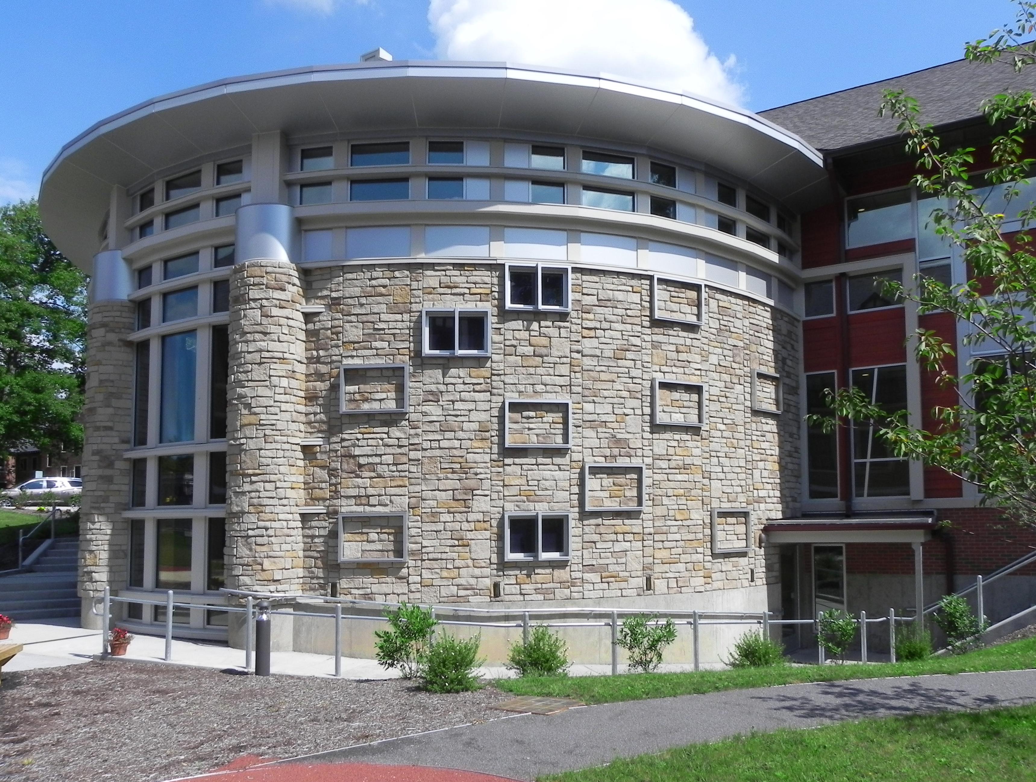 circular stone building