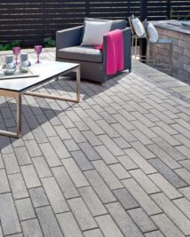 outdoor furniture on stone