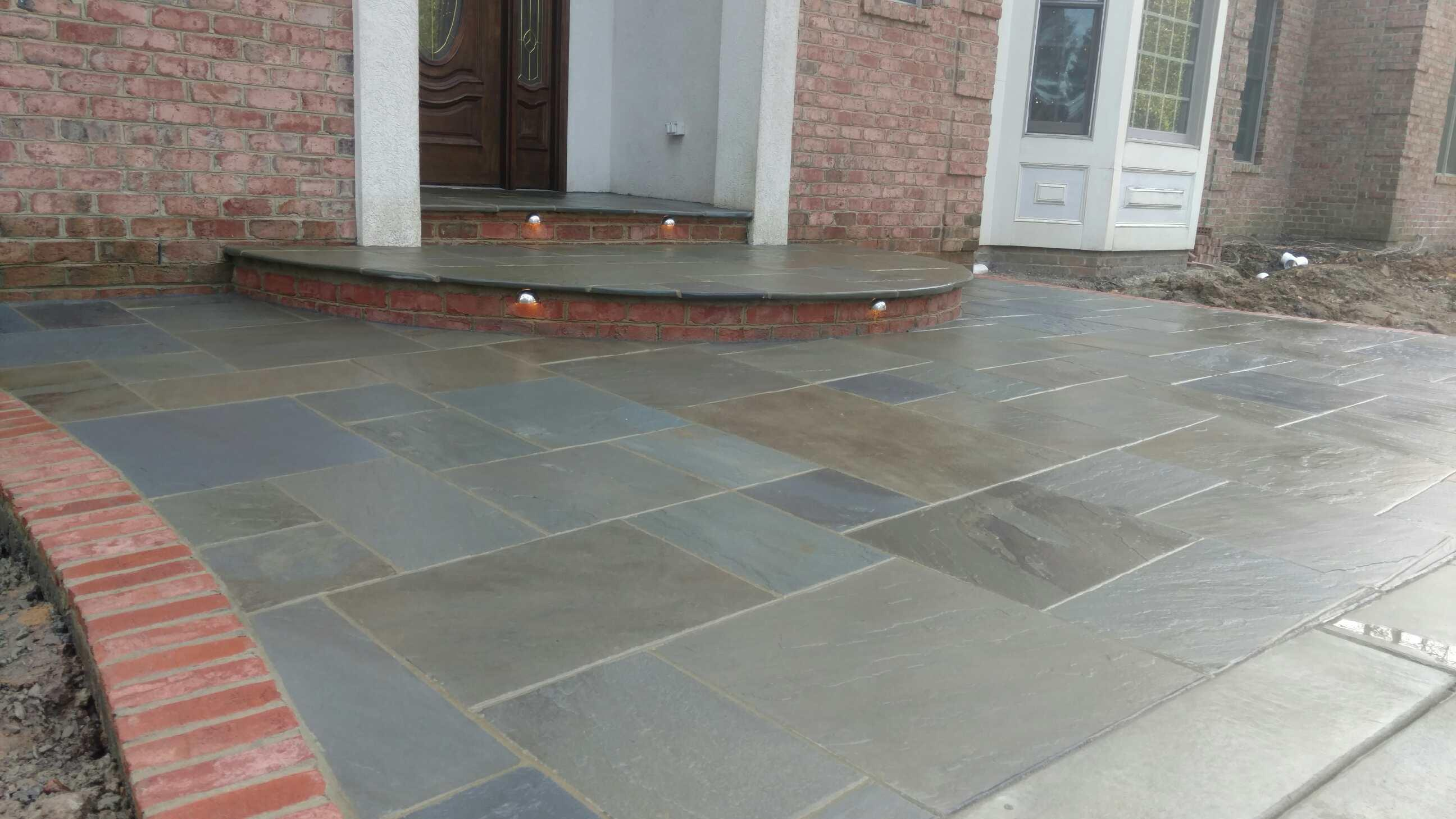 Pa Bluestone Tile 1 And 5 Thick Full Color