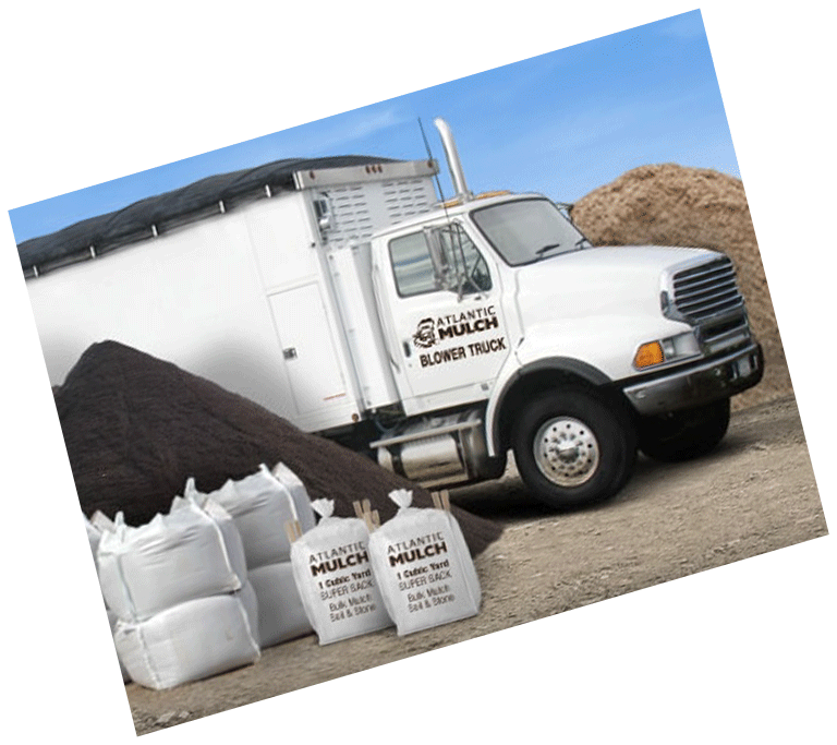 Atlantic Mulch - Delivery Truck