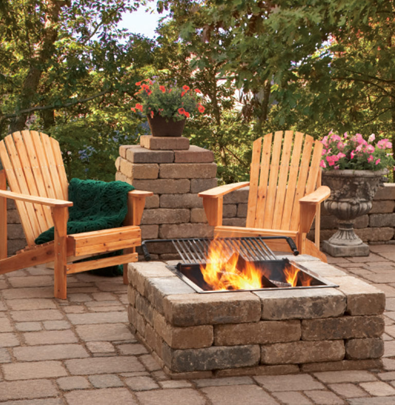 Atlantic Mulch - Fire Pit