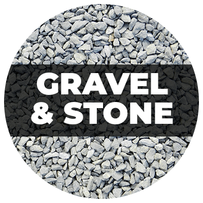 Atlantic Mulch - Gravel & Stone Circle