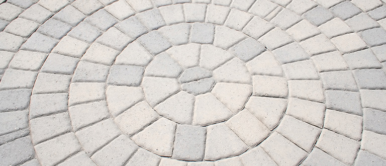 Atlantic Mulch - Paver Circle
