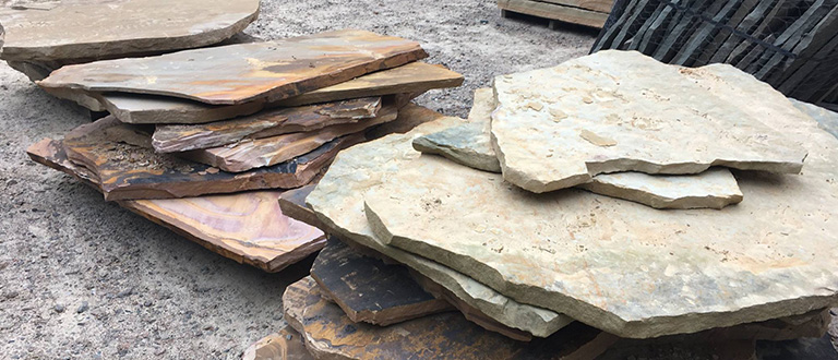 Atlantic Mulch - Stone Slabs